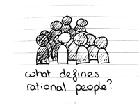 What defines rational people